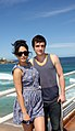 Vanessa Hudgens and Josh Hutcherson (6718745989).jpg