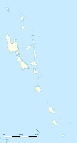 Port Vila is located in Vanuatu