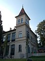 Vaszary Villa. Tower. - Honvéd Street, Balatonfüred.JPG