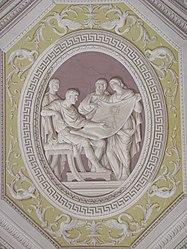 Vatican Museum ceiling relief.jpg