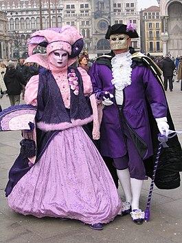 Velencei karnev l wikip dia - Masque de carnaval de venise a imprimer ...