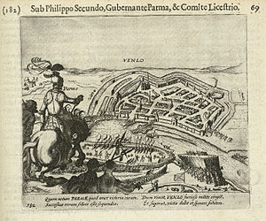 Siege of Venlo (1586) - Image: Venlo 28 juni 1586