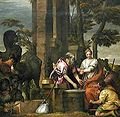 Veronese, Paolo - Rebecca and Eliezer - c. 1580.jpg
