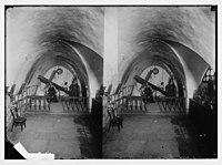 Via Dolorosa, beginning at St. Stephen's Gate. Interior of the house of St. Veronica. LOC matpc.05021.jpg