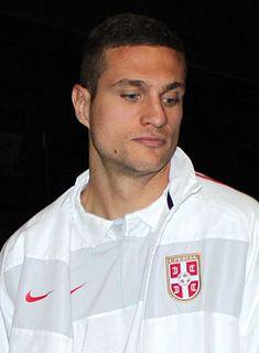 Nemanja Vidić Serbian footballer