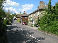 View along Lower Street into Eastry - geograph.org.uk - 1306736.jpg