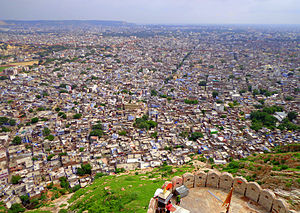 Nahargarh Fort - view from Nahargarh Fort