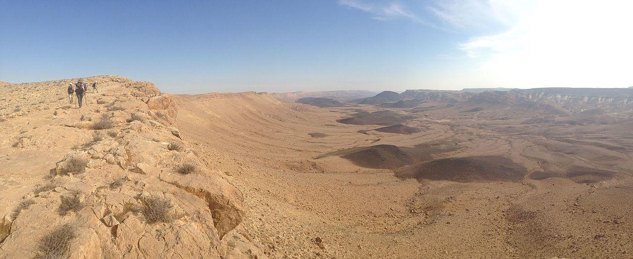 deserts in Israel