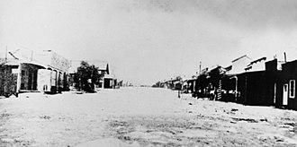 Silver Reef, Utah - Silver Reef in the 1880s
