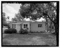 View of West side, facing east - 1747 North Shore Terrace (House), 1747 North Shore Terrace, Orlando, Orange County, FL HABS FL-535-5.tif