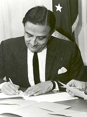 Indian Space Research Organisation - Vikram Sarabhai, first chairman of INCOSPAR, which would later be called ISRO