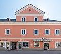 Villach Italiener Strasse 17 ehem Kathreinspital W-Seite mit Ziergiebel 07082015 6527.jpg