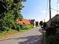 Village square in Přeckov, Třebíč District.JPG