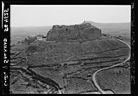 Villages in the Hauran (Land of Gilead). Castle of Salkhad. Closer view of the picturesque castle LOC matpc.15958.jpg