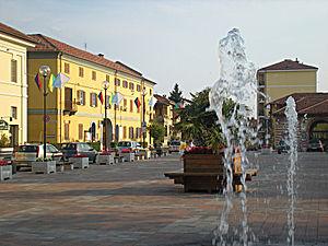 Villastellone - Image: Villastellone Piazza martiri della libertà