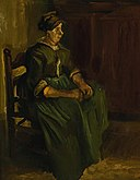 Vincent van Gogh - Peasant-woman seated (1885).jpg