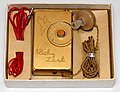 Vintage Baby Lark Germanium Crystal Radio By The D.D.K. Company, Made In Japan, Circa Late 1950s (33807263453).jpg