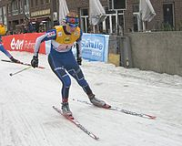 Virpi Kuitunen teamsprint final duesseldorf 2006.jpg