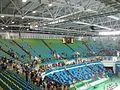 Vista de uma das arquibancadas da Arena Carioca 1 no encerramento de uma Competição.jpg