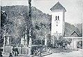 Vodnjak in stolp pri Polhovem Gradcu 1907.jpg