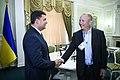 Volodymyr Groysman and Lawrence Summers in Ukraine - 2018 (MUS6894).jpg