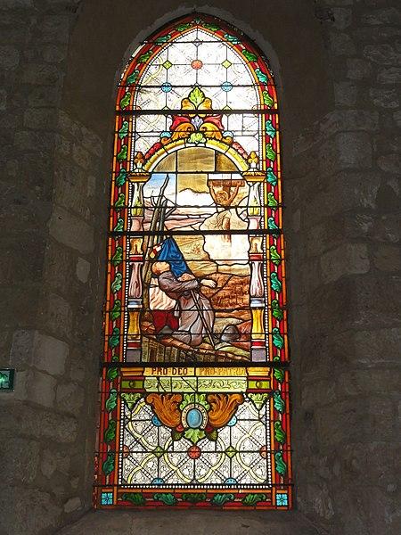 Voyenne, église saint-Rémi, vitrail