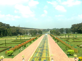 Krishna Raja Sagara - Image: Vrindavan Gardens, Krishana Raja Sagara, Mysore 1047