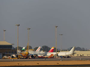 Vueling, San Pablo Airport, Sevilla, España, 2015