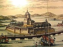 Vyborg Castle in 1709.jpg