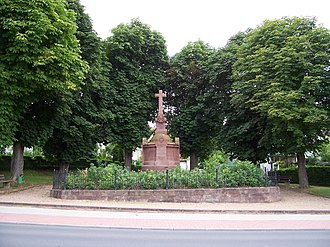 Battle of Tauberbischofsheim - Image: Württembergisches Kriegerdenkmal in Tauberbischofsheim 1