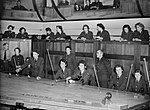 WAAF plotters at work in the Operations Room at No. 11 Group HQ at Uxbridge in Middlesex, 1942. CH7698.jpg