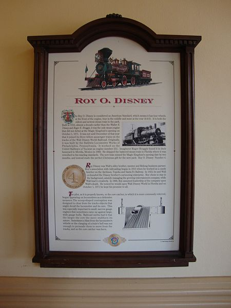 File:WDWRR Plaque - Locomotive No. 4.jpg