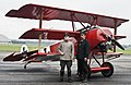 WWI reenactment with Fokker Dr.I.jpg