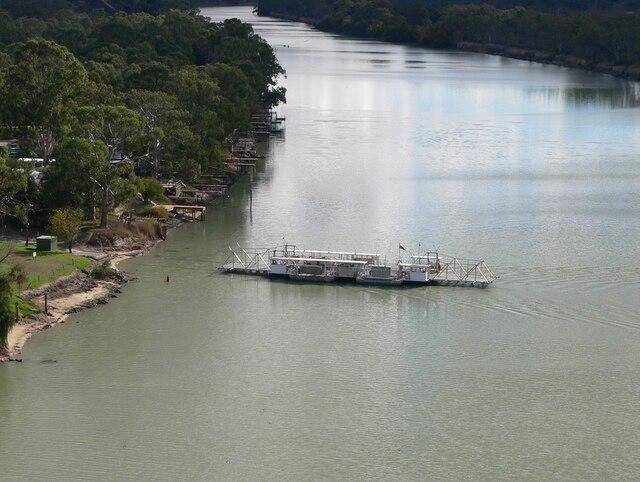 Walker Flat ferry 1