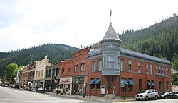 Wallace, Idaho.