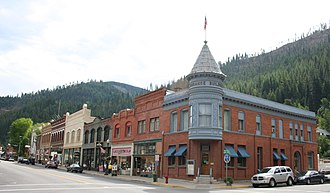 "Silver Valley (Idaho) - Wallace,Idaho is nicknamed the ""Silver Capital of the World"""