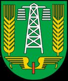 Das Wappen von Falkenberg/Elster