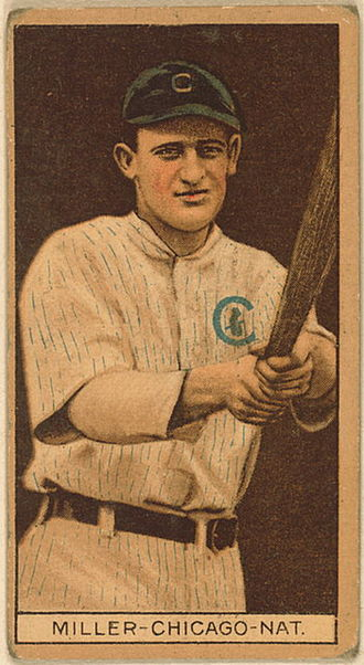 Ward Miller (baseball) - Ward Miller with the Chicago Cubs