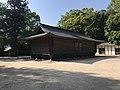 Warehouse of Mikoshi in Oyamazumi Shrine.jpg