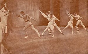 Symphonic Variations (ballet) - Symphonic Variations. Sadler's Wells Ballet in Poznan, 1947