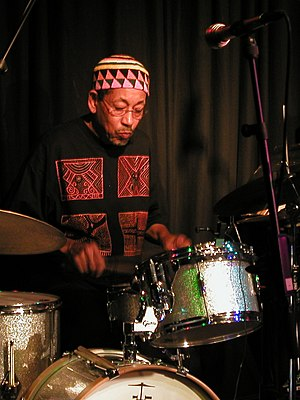 Warren Smith (jazz percussionist) - Warren Smith performing in 2008
