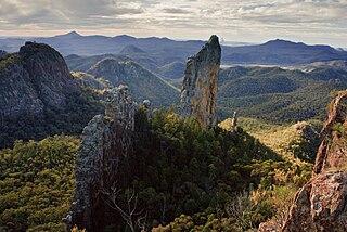 Warrumbungles mountain range