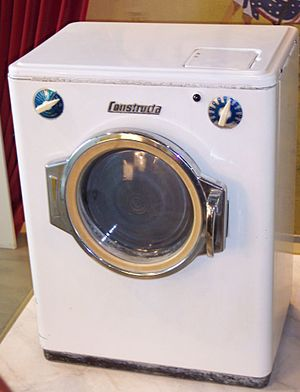 Homemaking - A 1950s washing machine
