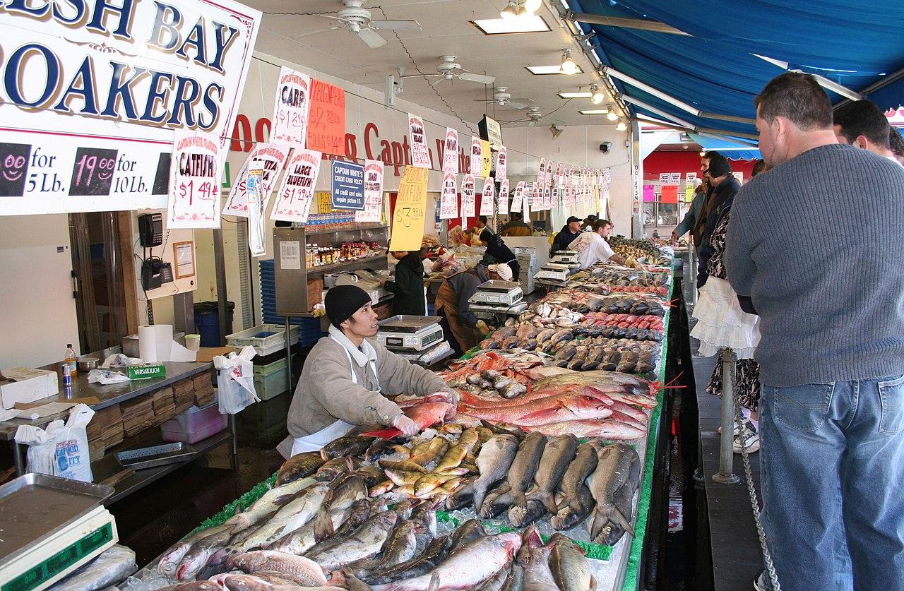Seafood Restaurant Near Lessay France