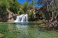 Waterfall Trail on Fossil Creek (29985319992).jpg