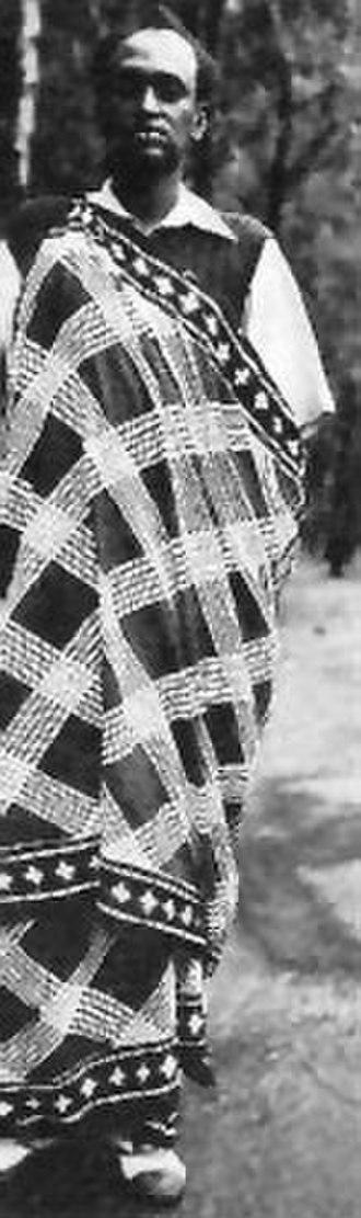 Banyamulenge - Image: Watusi Prince, Belgian Congo