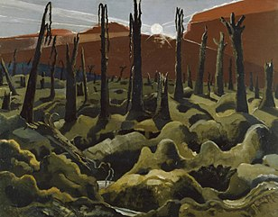 Paul Nash's We are Making a New World; 1918.[153]
