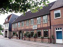 Das Geburtshaus von Carl Maria von Weber in Eutin (Quelle: Wikimedia)