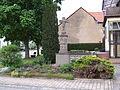 Wegekreuz von 1745 in Niedergailbach, Ecke Obere Straße - Bischof-Weiß-Straße.JPG