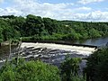 Weir on the River Clyde - geograph.org.uk - 895878.jpg
